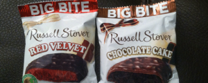 Review (x2): Russell Stover Red Velvet Big Bite & Chocolate Cake Big Bite, & WHY ARE YOU SHOUTING, METRO CONDUCTOR??