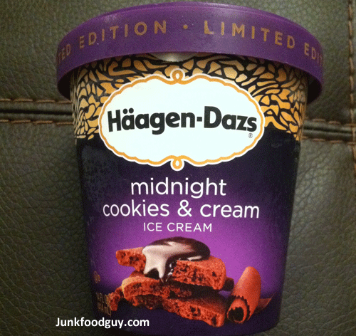 Review: Limited Edition Häagen-Dazs Midnight Cookies & Cream & How ...