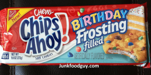 New Birthday Frosting Filled Chewy Chips Ahoy!