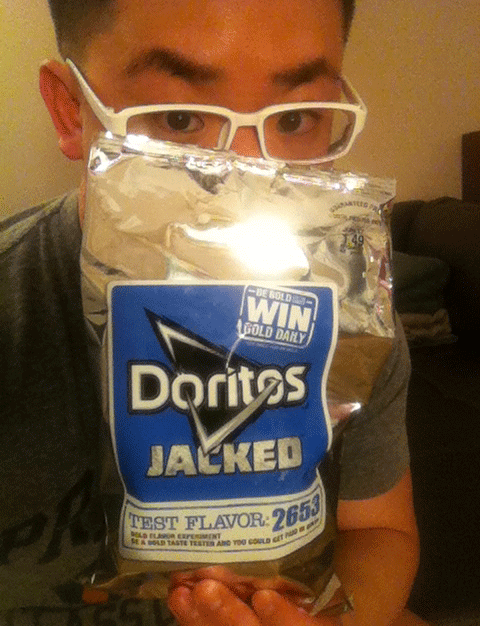 Doritos JACKED Test Flavor 2653