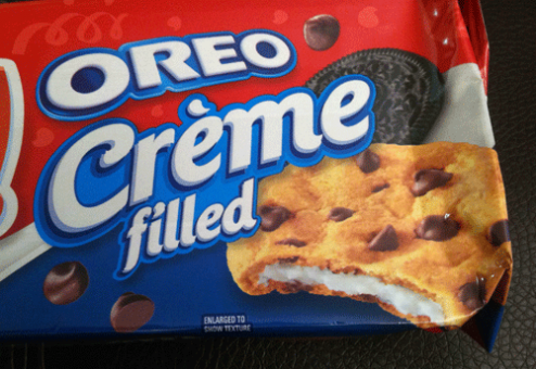 New Oreo Creme Filled Chewy Chips Ahoy!