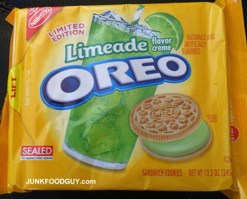 Limited Edition Limeade Oreos
