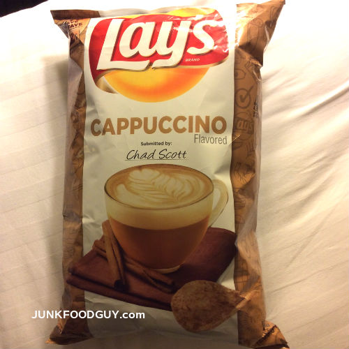 Cappuccino Lay's potato chips: The Money Shot
