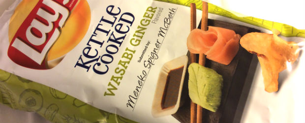 Review: New Lay's Do Us a Flavor Wasabi Ginger Kettle Cooked Potato Chips