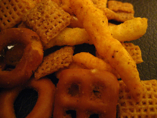 Sweet & Spicy Sriracha Chex Mix Xtreme