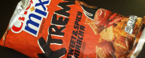 Review: Sweet & Spicy Sriracha Chex Mix Xtreme & What Do You Do With Old Pens?