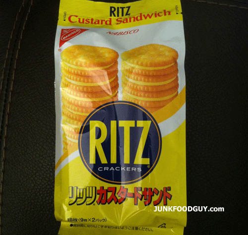 Ritz Custard Sandwich