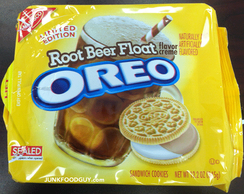 Limited Edition Root Beer Float Oreos