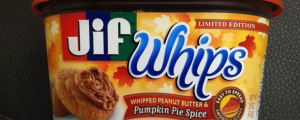 Review: Limited Edition Pumpkin Pie Spice JIF Whips & C'mon...Be Honest...Have You Ever Stolen Something?