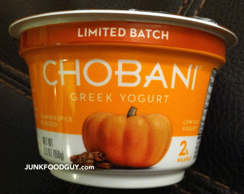 Limited Batch Pumpkin Spice Chobani Greek Yogurt