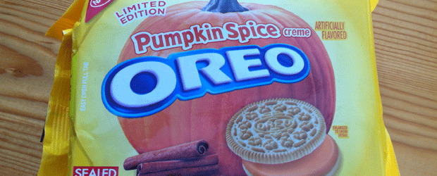 Review: Limited Edition Pumpkin Spice Oreos & The Nosh Show Ep. 38: Mr. Grease Stained Food Bag
