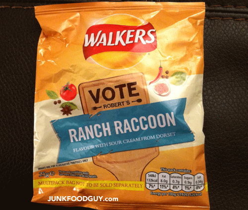 Walkers Ranch Raccoon Potato Crisps