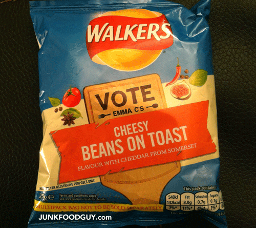 Walkers Cheesy Beans On Toast Potato Crisps