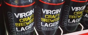 QUICK REVIEW: MADD Virgin Craft Brewed Lager & Backup QB vs. JFG: NFL Week 6 & Why Drink Non-Alcoholic Placebos?