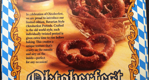 review limited edition snyder s of hanover oktoberfest crispy