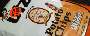 Review: Limited Edition Utz Yuengling Hot Wing Sauce Potato Chips & An Air Umbrella? SAY WHAAAA