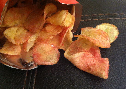 Boulder Canyon's Cranberry Kettle Cooked Potato Chips