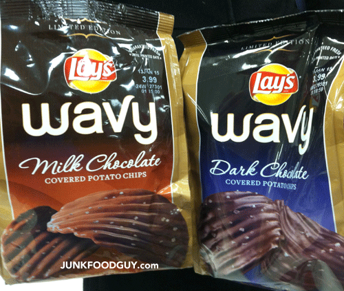 Limited Edition Dark Chocolate Covered Wavy Lays