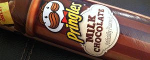 Review: Limited Time Only Milk Chocolate Pringles & Give Me a New Mascot Suggestion That Isn't LAAAAAME