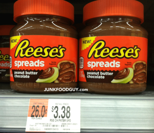 New Reese's Peanut Butter Chocolate Spread