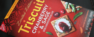 Review: Limited Edition Cranberry & Sage Triscuit & Happy Veterans Day & A Junk Food Gal Story! Rudeness on the Metro