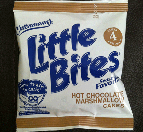 New Entenmann's Little Bites Hot Chocolate Marshmallow Cakes
