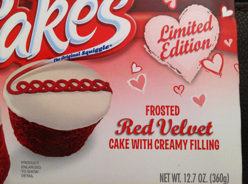 Limited Edition Hostess Red Velvet Cup Cakes