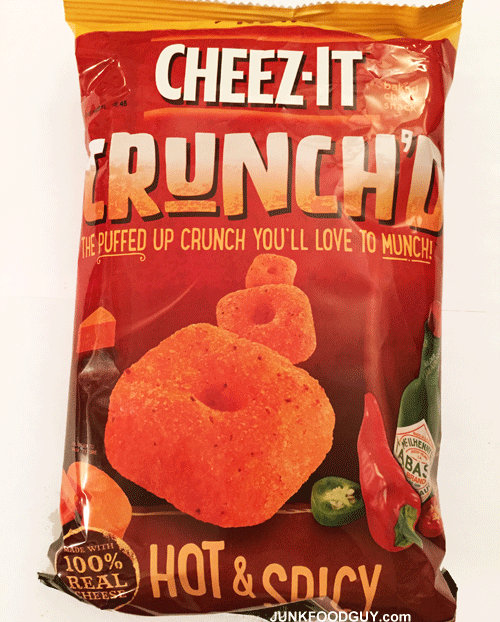 Cheez-It Hot & Spicy Crunch'd: The Money Shot