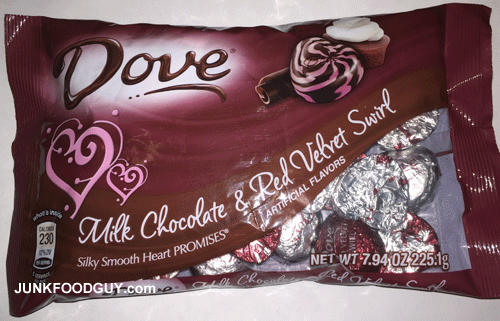 Dove Milk Chocolate & Red Velvet Swirl: The Money Shot