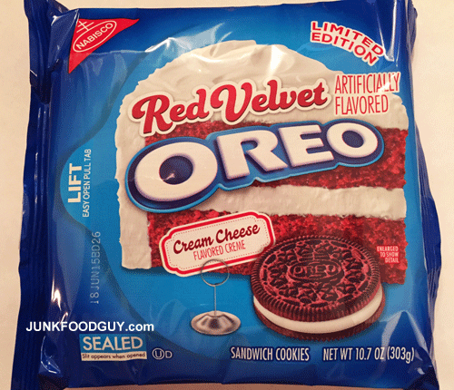 Limited Edition Red Velvet Oreos: The Money Shot