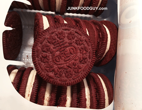 Limited Edition Red Velvet Oreos