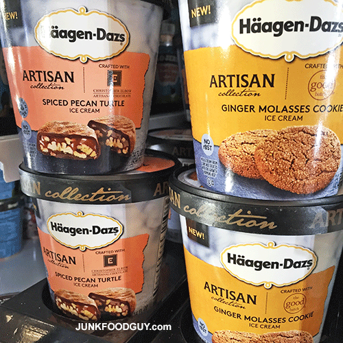 New Häagen-Dazs Artisan Collection Ice Cream
