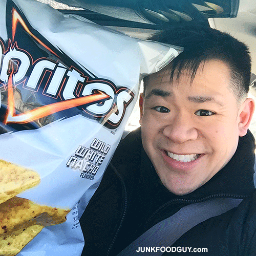 Wild White Nacho Doritos: The Selfie Shot