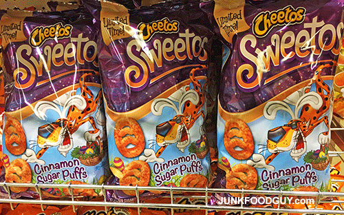New Cheetos Sweetos