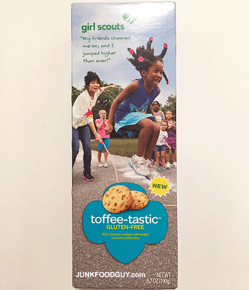 New Toffee-tastic Girl Scout Cookies: The Money Shot