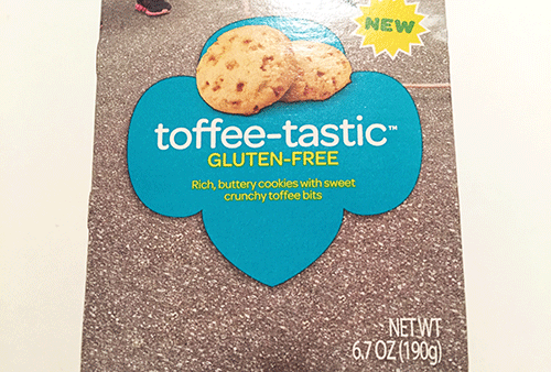 New Toffee-tastic Girl Scout Cookies