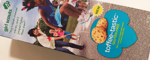Review: New Toffee-tastic Girl Scout Cookies & Wild White Nacho Doritos = White Whale, Costco = Ahab