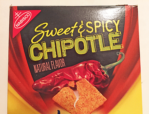 New Sweet & Spicy Chipotle Wheat Thins