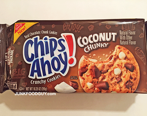 New Coconut Chunky Chips Ahoy!