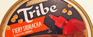 Review: Limited Batch Tribe Fiery Sriracha Hummus & April Fools Day ALL UP IN YOUR FACE