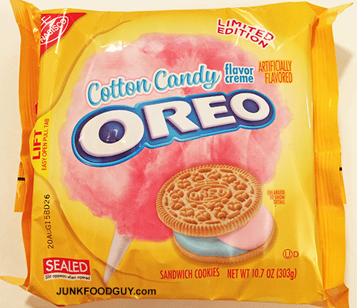 Limited Edition Cotton Candy Oreos