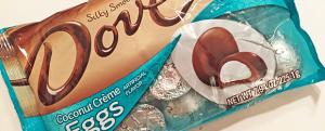 Review: Dove Coconut Creme Eggs & It's Time to Draw a Line in the Sand: Pancakes, French Toast, or Waffles?