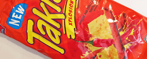 Review: New Takis Xplosion & BRING YOUR OWN SLURPEE CUP DAY TOMORROW ZOMG