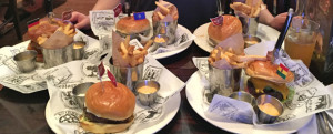 Review: Hard Rock Cafe's World Burger Tour, DC Edition (with input from THE JUNK FOOD GAL. WHAT.)