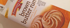 MICRO-REVIEW: New Pepperidge Farm Brown Butter Rum Cookies