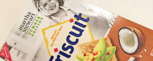 MICRO-REVIEW: Toasted Coconut & Sea Salt Triscuit (Martha Stewart Summer Edition)