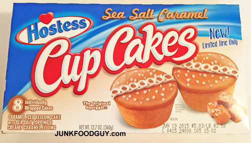 Limited Time Only Sea Salt Caramel Hostess Cupcakes: The Money Shot