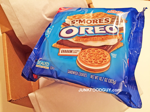 Limited Edition S'mores Oreos
