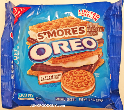 Limited Edition S'mores Oreos: The Money Shot