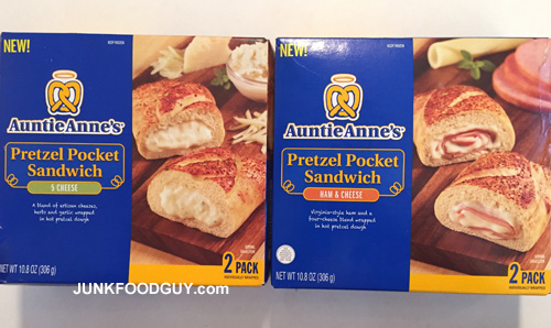 New Auntie Anne's Pretzel Pocket Sandwiches: The Money Shot